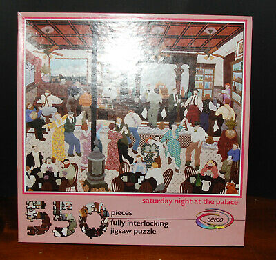Ken Zylla Small Town Saturday Night 550pc Jigsaw Puzzle DIY Sunsout Hobby Hobbies