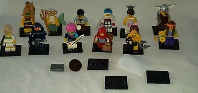 Genuine Lego 12 Figures Poseiden Tennis Little Red Riding Hood Tarzan Stunt Ride