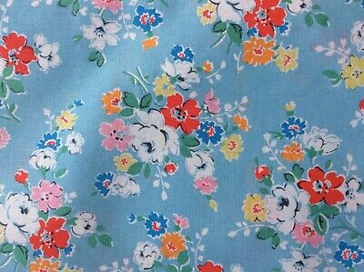 CATH KIDSTON PROVENCE ROSE HABERDASHERY COTTON FQ FABRIC SCRAP 44 x 55 cm