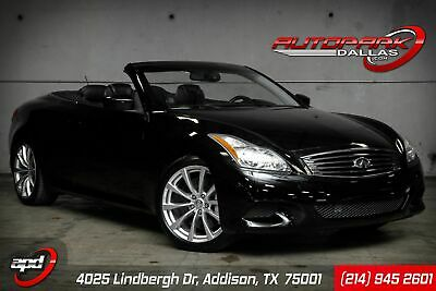 2010 INFINITI G37 Convertible G37 Sport 1-Owner, LOW Miles, LOADED, Fresh Service, WE FINANCE!