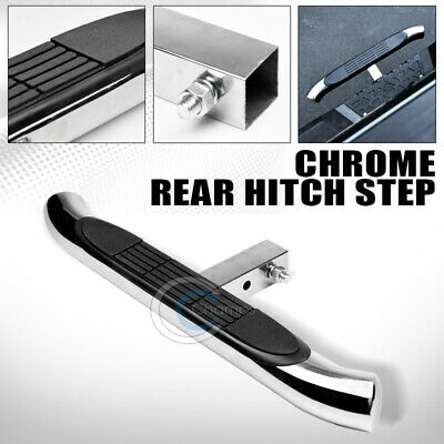 BLACK HORSE HS28OVSS 2in Oval Stainless Steel Rear Hitch Step