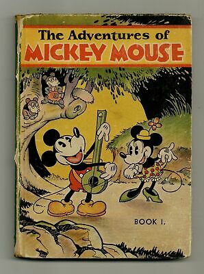 Adventures of Mickey Mouse #1 GD+ 2.5 1931