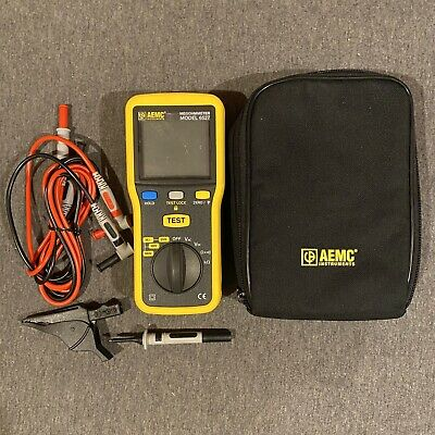 AEMC 6527 (2126.53) Digital Handheld Megohmmeter, 1000V Max Voltage