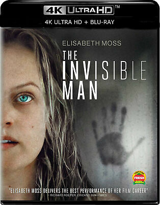 The Invisible Man (2020) [4k/Blu-ray] Movie starting at a penny FREE SHIPPING!