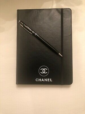 Chanel Vip Gift Notebook With VIP Pen
