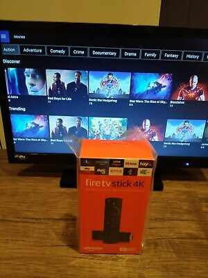 Amazon Fire Stick 4K with Alexa VR - EVERYTHING Included! Movies/Boxsets/Sports