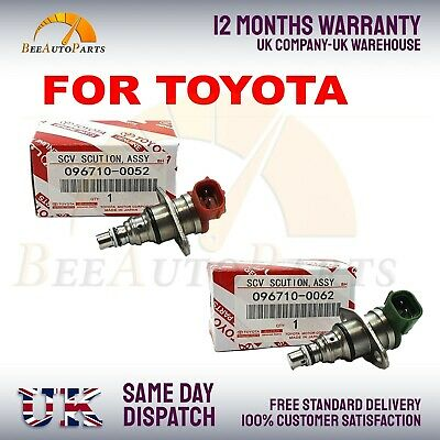 DENSO Diesel Suction Control Valve For Toyota HIACE COROLLA VERSO AVENSIS VERSO