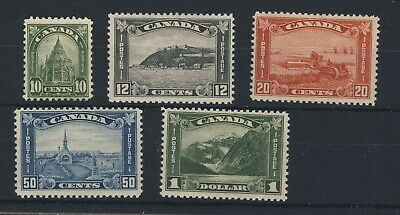 5x Mint stamps 10c-MNG  MH=12c-20c-50c-$1.00 Guide Value = $423.00