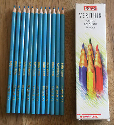 Berol Verithin Pencils SKY BLUE 08 (box of 12)