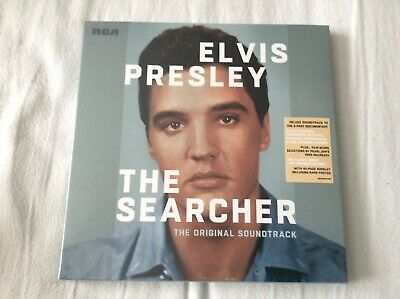 elvis presley the searcher great 3 disc rca legacy box set with 40 page booklet