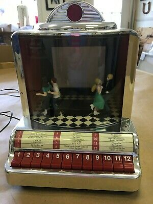 Mr. Christmas Gold Label  Animated Jukebox 12 Songs Motion
