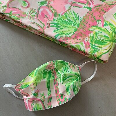 Child's Face Mask - Lilly Pulitzer Fabric