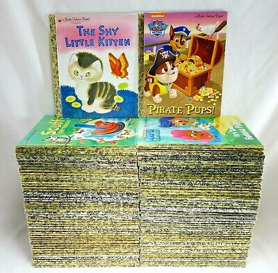 Little Golden Books Lot of 10 Unsorted Disney Vintage Classics No Writing