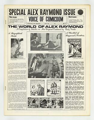 Voice of Comicdom #13 FN/VF 7.0 1968