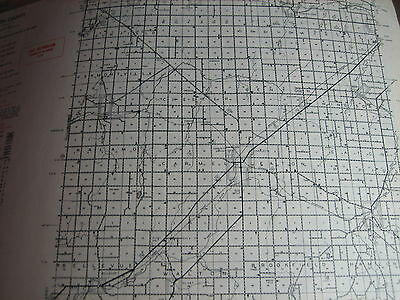 1954 EATON County MI Michigan CONSERVATION DNR MAP