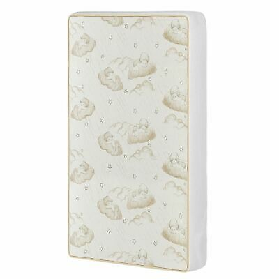Crib & Toddler Mattress Bed Dream On Me 2-In-1 Breathable Spring Coil Nursery