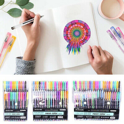 48FB Plastic Colour Pencil Highlighter Drawing Crayons Multifunctional Comic Pen