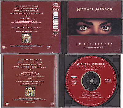 Michael Jackson IN THE CLOSET #2 Remixes CD Collector Edition JAPAN 1992