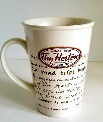 Tim Hortons Coffee 009 Limited Edition Every cup tells a story…always! Mug Cup