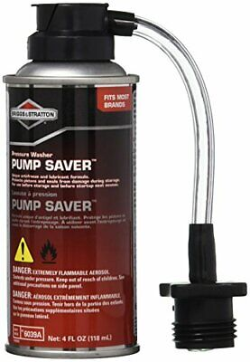 New! Briggs & Stratton Pressure Washer Pump Saver - 4 Oz. 6039