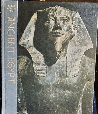 ANCIENT EGYPT Time Life Great Ages of Man Series Hardcover Illustrated 1969  vG