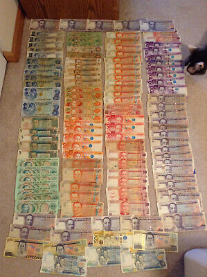 Large lot of foreign Philippines Republic and modern Philippine Peso notes