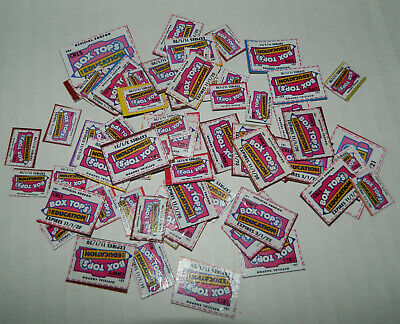 BOX TOPS FOR EDUCATION BTFE Trimmed Exp 11/20-11/22 Lot of 60+