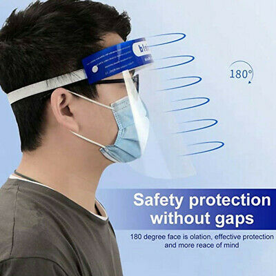 Full Face Covering Safety Protection Shield Tool Head-mounted Splash Proof Cover