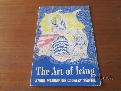 Vintage cookery book  STORK THE ART OF ICING
