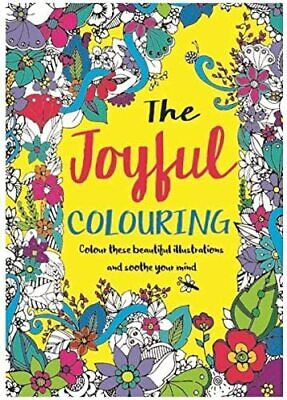 Mind Relaxation Adult Colouring Book Joyful Soothe your mind 24 designs A4