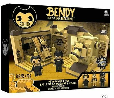 Bendy and the Ink Machine Studio Room Scene Construction Lego Set New