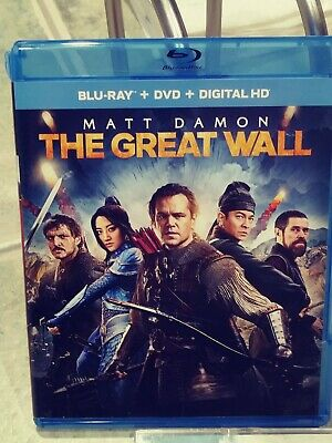 Matt Damon - The Great Wall. Has Blu Ray, DVD, and Digital HD. Awesome Movie