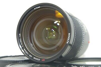 Minolta AF 28-135mm f/4-4.5 Zoom Lens SN18202254 for Sony A Mount from Japan