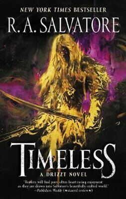 Timeless A Drizzt Novel by R. A. Salvatore 9780062688606 | Brand New