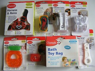 Clippasafe Accessories, Bathtime, Safety, Reins, Hooks etc, Buy Two Get One Free