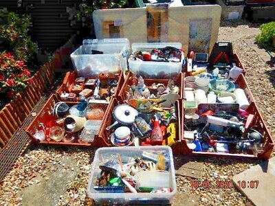 From Storage Container House Clearance Job Lot 10 Large Containers   Ass Items