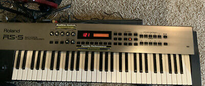 ROLAND RS-5 RS5 Synthesizer 61-Key Keyboard Free Shipping