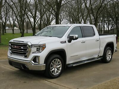 2019 GMC Sierra 1500 4WD 4WD Crew Cab SLT 6.2L One Owner Perfect Carfax 6.2L Heated and Cooled Seats Moonroof MSRP New $62705