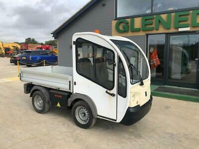 2013 Goupil G3 electric dropside pickup utility vehicle