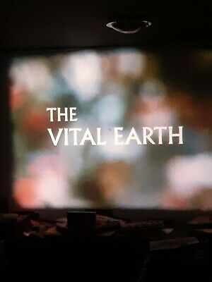 the vital earth 1x600ft 16mm documentary on developing India looks 60s  x color