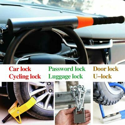Car Headlock Pickup Steering Wheel Lock Universal Car Anti Theft Safety Lock Lot