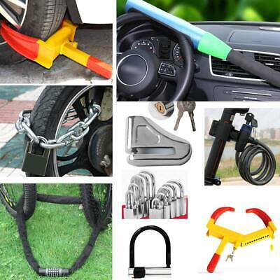 Universal Heavy Duty Anti Theft Car Van Steering Wheel Rotary Lock Security
