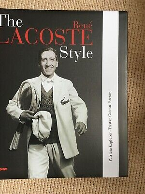The René Lacoste Style Large Tennis Book