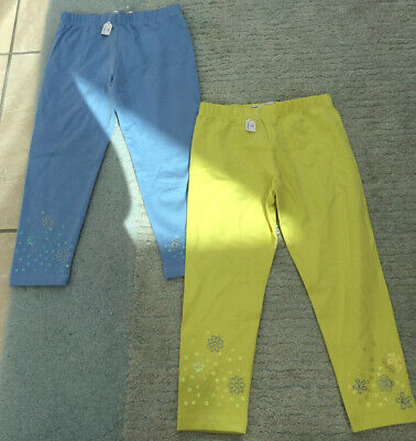 M&S Autograph Girls Embellished Leggings Bundle Age 2-3