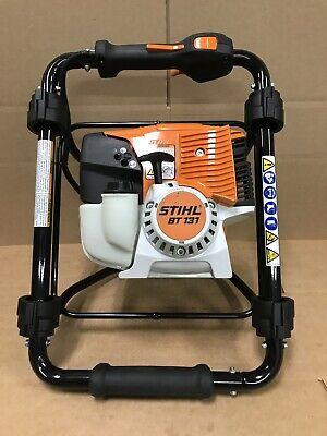 Stihl BT 130 One Man 2 Stroke Earth Auger Was Use As Display New!