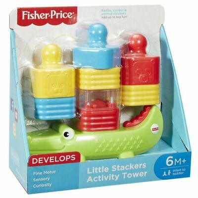 Fisher Price Little Stackers Croc Activity Tower