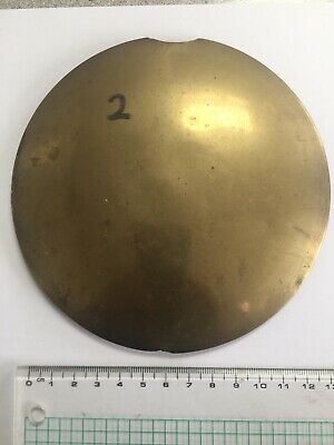 Antique wall clock pendulum bob (2)