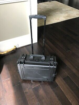 Pelican Unbranded 20in Carry On Case with Wheels Good Condition-Free shipping