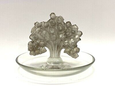 Cendrier Baguier Muguet R.Lalique Astray Pintray Rene Lalique Lily Of The Valley