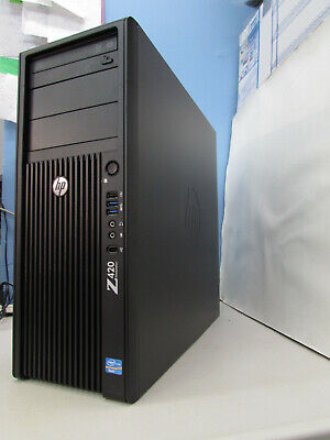HP Z420 Workstation,Xeon E5-1607 ,3.0GHz,32GB RAM,256GB SSD,1TB HD,Win 10 Pro